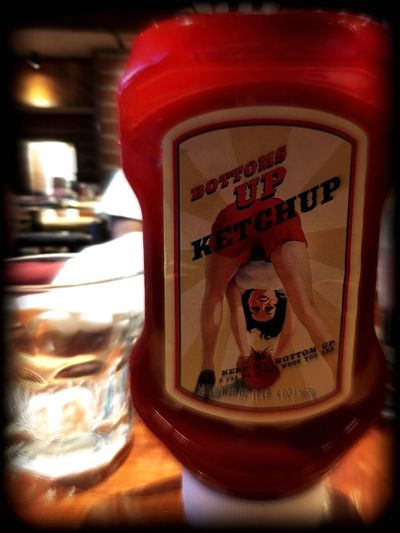 Literally, lol! Hello World American Condiments Blurry Bar Grills Burgers & Booze Twin Peaks UFC FIGHT NIGHT Family Time