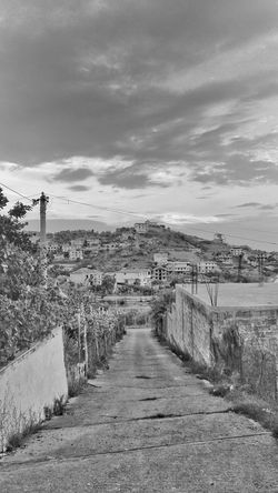 Day Sky Landscape Photo Photooftheday Photography Zhoxha Black And White Tree World Dramatic Sky Beauty In Nature Nature Cloud - Sky Tranquility Clouds Travel Blackandwhite Mountain House Albania Summer