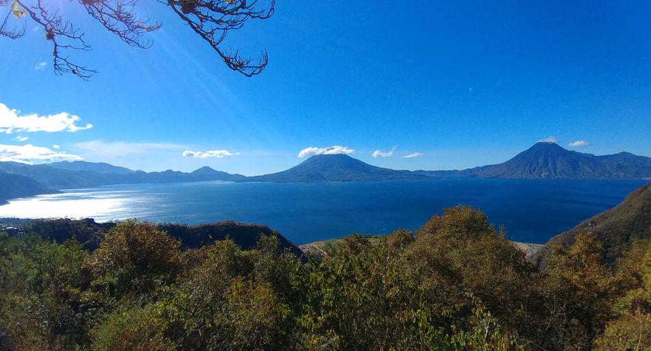 Three Volcanoes