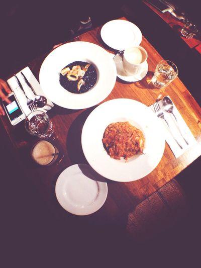好好ㄘ 黑米 墨魚燉飯 粉紅醬燉飯 20141212