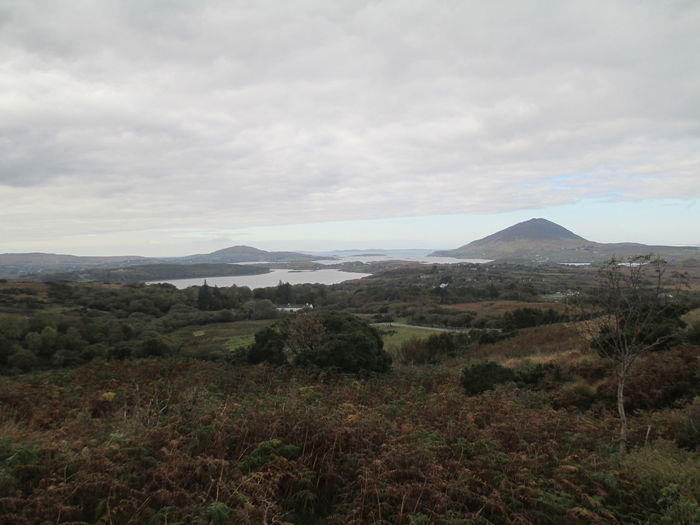 Beauty In Nature Cloud - Sky Cloudy Connemara Day Hill Landscape Mountain Mountain Range Nature Outdoors Overcast Scenics Sky Tranquil Scene Tranquility