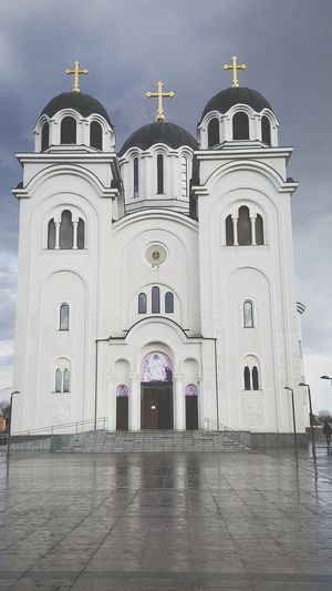 Church #orthodoxy Valjevo #serbia #srbija History Sky Architecture