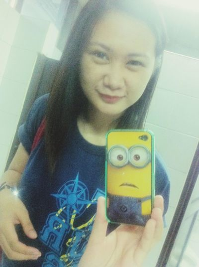 Hello World Check This Out It's Minion! Cute Case