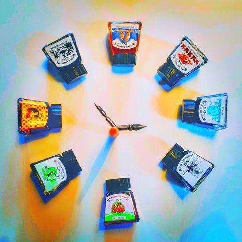Illusion of Time Clock #ClockOutTime Newagephotography Fotography Newage Art is Everywhere Joy Phenomenon Harmony #illustration #ArtisIndestructible Art Love Magic Holy Summer #colour Winsorandnewton #INK Wireless Technology Technology Communication Calendar