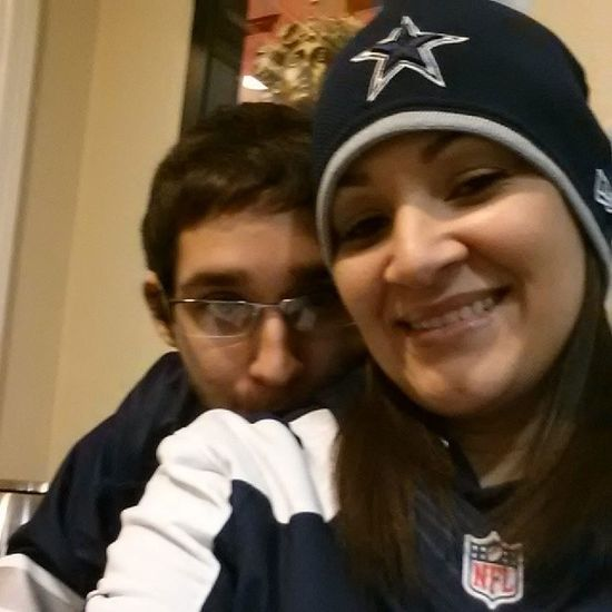 Mommy's baby boy!! Our first DC game together!! DC4L Trublu  ☆★☆★Cowboys DCFANS