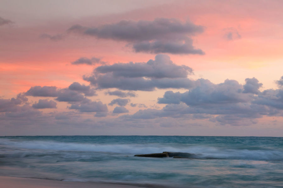 Sea Sky Water Nature Cloud - Sky Horizon Sunset No People Idyllic Outdoors Wave Land Tranquility Beauty In Nature Horizon Over Water Scenics - Nature Tranquil Scene Beach Motion Long Exposure Tranquility Travel Destinations Sky Clouds EyeEmNewHere