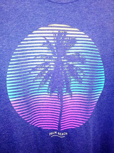 Florida Palm Beach Life ArtWork Palm-tree Palmtree ScreenPrintedT-shirts ScreenPrintT-shirts Screen Print T Shirt T Shirt Collection Tshirt Art Western Script Text Clothing Palm Tree Palm Trees Taking Photos Check This Out T-shirt Palm Beach Palmbeach No People! No People Close-up Fabric Textile Pattern Design ArtWork