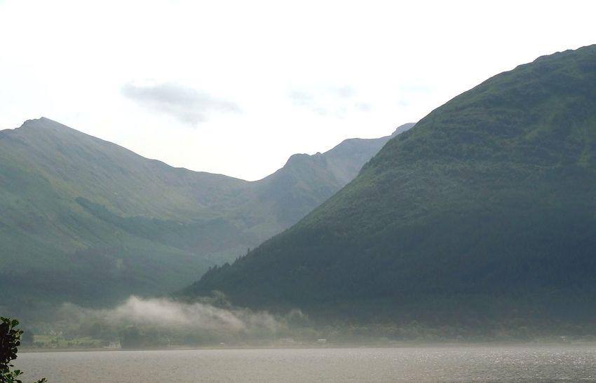 By the Loch. Loch Linnhe Shore Shoreline Morning Mist Scotland Landscape Mountains Stunning Scenery Nature EyeEm Best Shots Pivotal Ideas