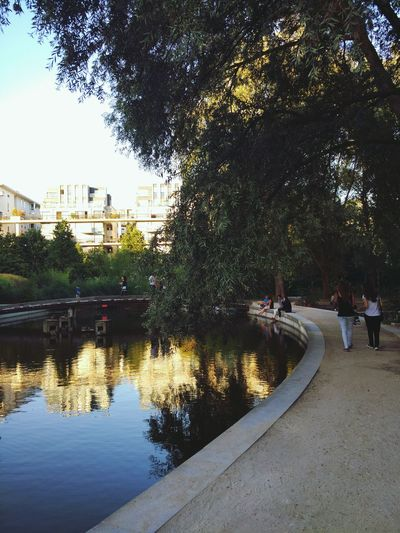 City Park - Man Made Space Sunny Tranquil Scene Outdoors Paris, France  EyeEm Nature Lover EyeEmBestPics Sunset Beauty In Nature