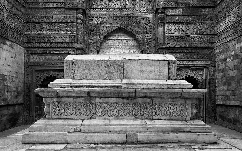 This image is part of my ongoing project covering the last resting places of Delhi Sultanate. Delhi Sultanate Delhi Sultanate Tomb Tomb, Monochrome Travel Grave Architecture Historic