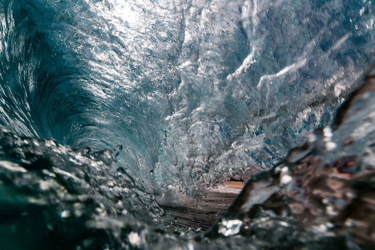 Close-up of waves