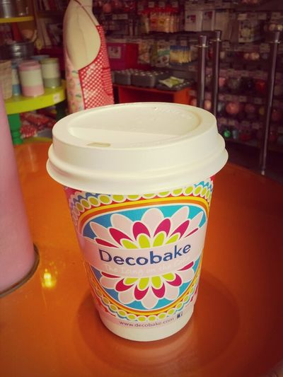 Decobake is a specialist baking supplies store on Bachelor's Walk, Dublin 1. They make some really nice coffee. :)