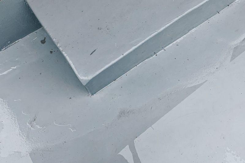 Full frame shot of snow on wall