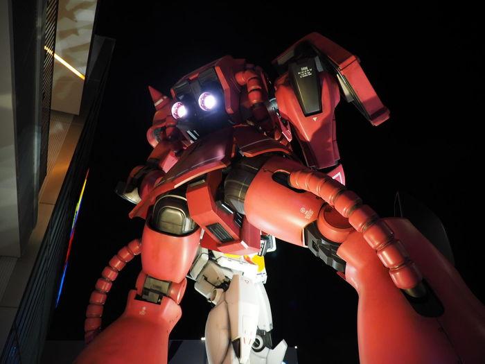 Gundam Suita-shi, Japan Zaku Char Night View