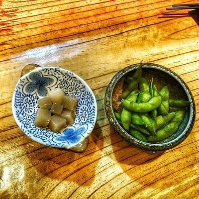 곤약조림 콩