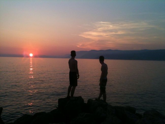 Last second picture Albania Sun Goes Down Welcome To Black Long Goodbye EyeEmNewHere