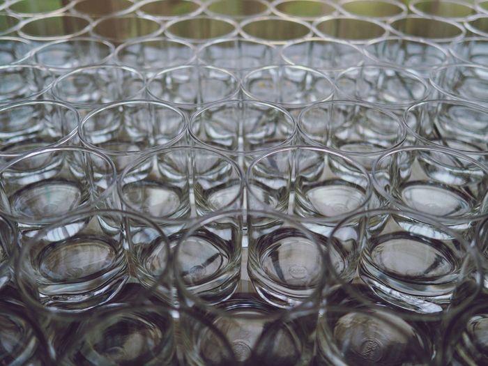 Full frame shot of glass