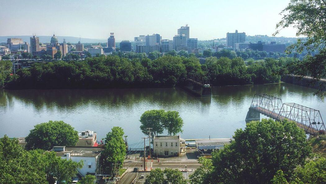 Harrisburg Harrisburg, Pa Susquehannariver, Walnutstbridge EyeEm Best Shots Eye4photography  City Cityscapes Followme Follow