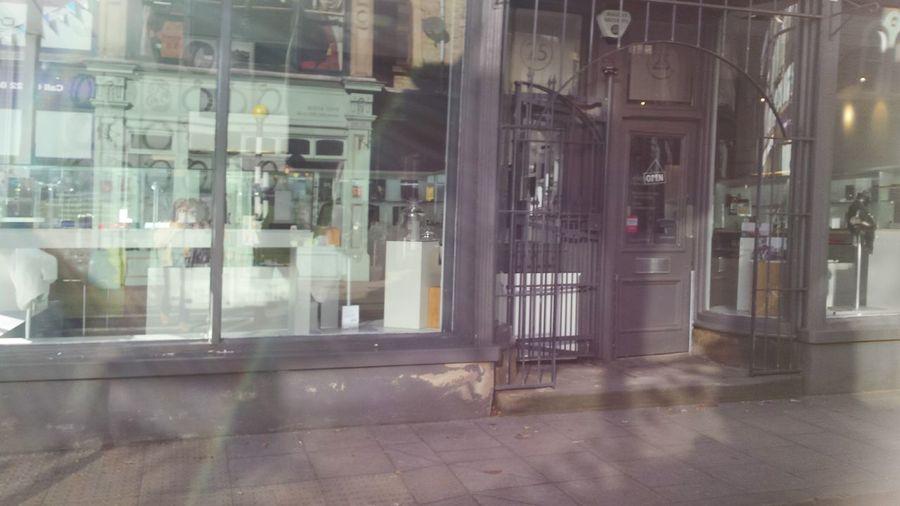 I Love My City hazy days and reflections of chocolate box shops. Doorway Shops Light And Shadow Windows Hazy Days Glitch Streetphotography Blur Happyvalleyhebdenbridge