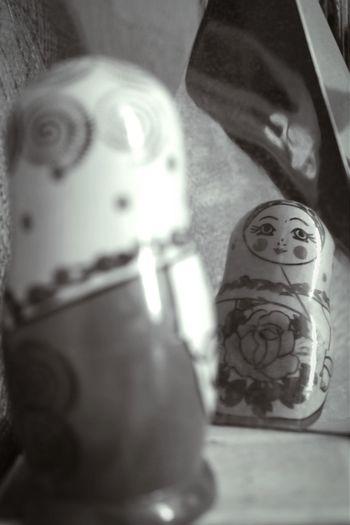Black & White Canon Russia Mamuschka· Mirror Picture Reflection_collection