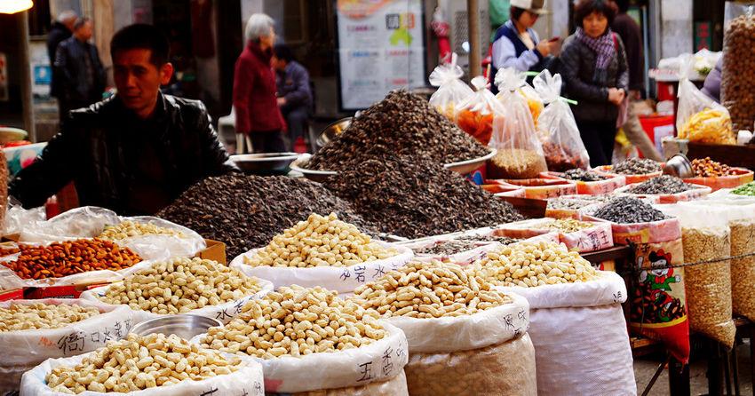 Everything In Its Place Peanuts Nuts Pedlar Street Photography Street Streetphotography Street Peddler EyeEm Best Shots Eyeemphotography EyeEmbestshots EyeEmBestPics Xiamen Xiamen,China