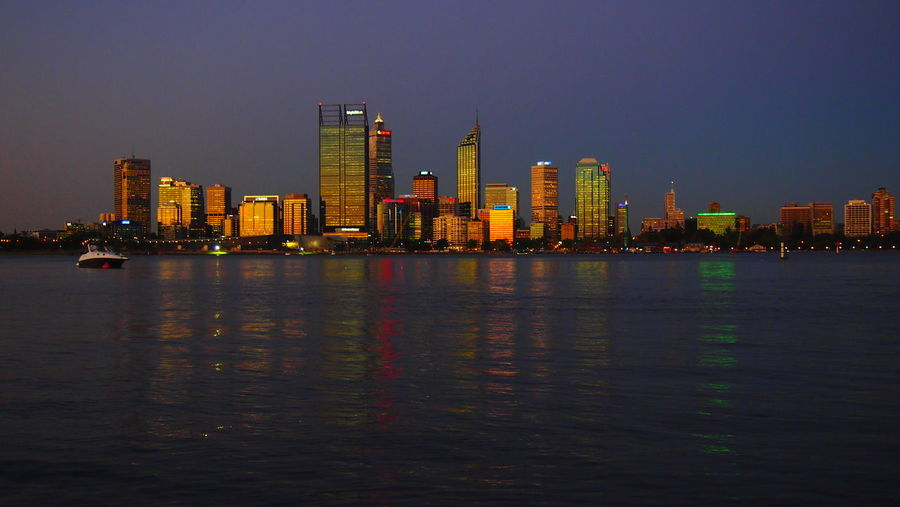 Perth golden skyline at sunset, Perth, Austraia Australia City Lights At Night Colourful Night Lights Night Photography Perth Perth Australia Perth Skyline Sightseeing Skyline Skyline At Night Travel Travel Photography Traveling Travelling Western Australia Architecture Australia & Travel Building Exterior Built Structure City City Lights Cityscape Clear Sky Downtown District Illuminated Modern Night No People Outdoors Sea Sky Skyscraper Tourist Destination Travel Destinations Travelphotography Urban Skyline Water Waterfront