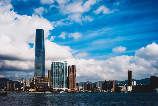 Discoverhongkong Architecture Built Structure Building Exterior Sky Cloud - Sky City Building Water Urban Skyline Skyscraper Landscape Office Building Exterior Waterfront Tall - High Cityscape Modern No People Outdoors Nature Travel Destinations