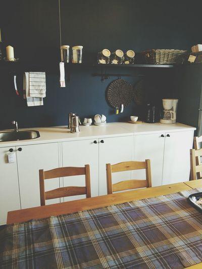 Kitchenset Cobalt Blue Room