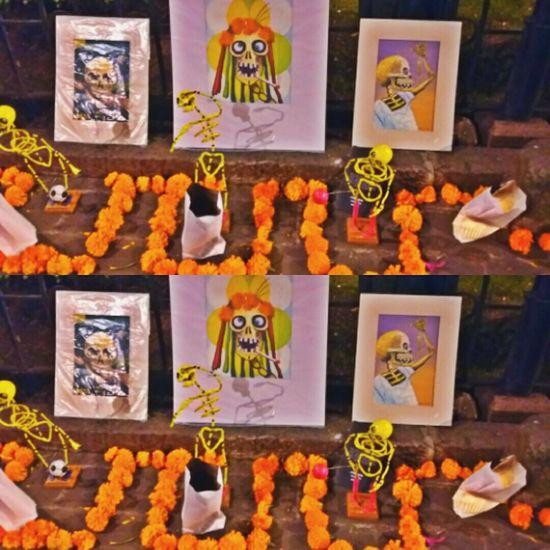 Day Cool Calavera  Muerte Flores
