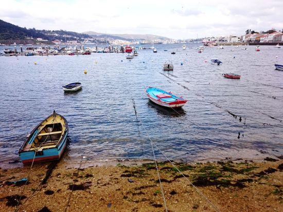 Boat Galicia Acoruña Mugardos SPAIN SP EyeEm Selects Nautical Vessel Outdoors Water Beach Day Sky Sea Nature No People Beauty In Nature