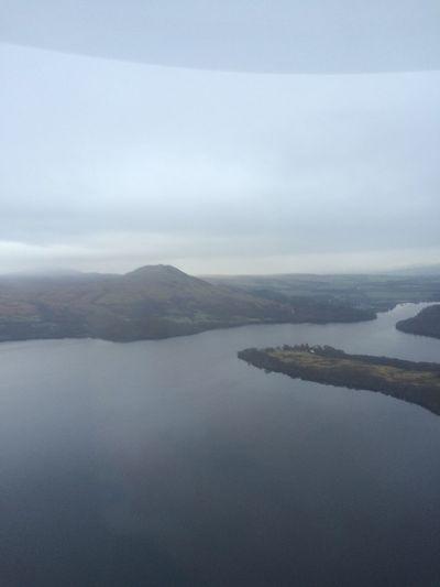 Seaking Mk4 Aerial Shot Lake View Scottish Highlands