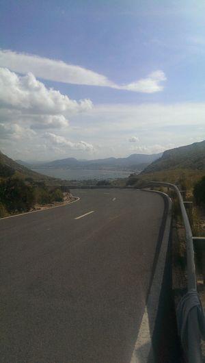 it's all downhill Biking from ere...