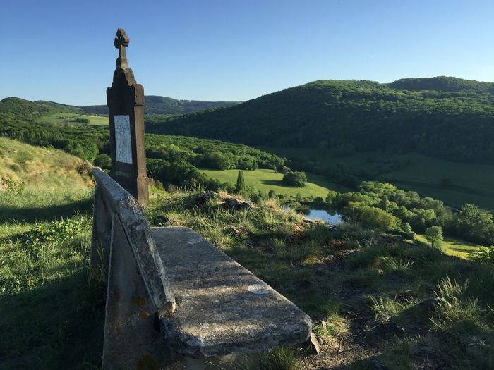 IPhoneography Enjoying The View Auvergne Myauvergne France From My Point Of View Landscape Landscape_Collection Landscape_photography Bench