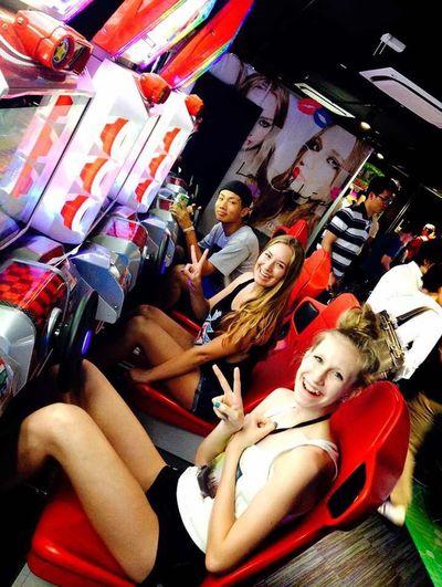 Had Fun Arcade Games Tokyo Akihabara With My Bestfriend From  Canada 2k14