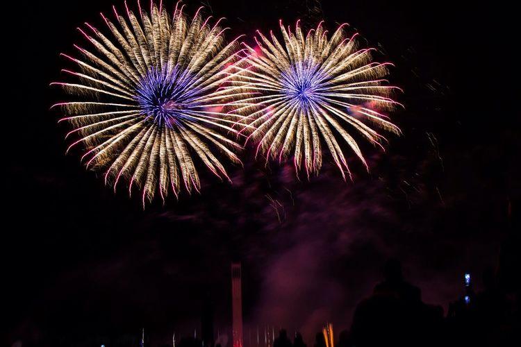 LVC Berlin Fireworks Pyronale