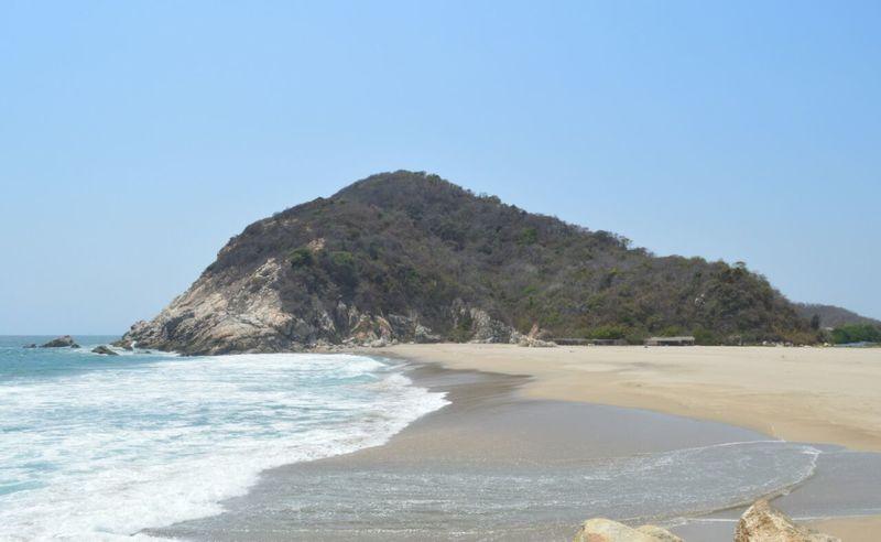 Beach Sea Blue Tourism Nature Landscape Travel Destinations Eyeem Mexico  No People