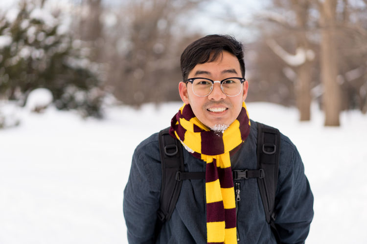 Asian  Glasses Harry Potter Harry Potter ⚡ Japan Japan Photography Japanese  Man Sapporo,Hokkaido,Japan Snow ❄ Clothing Cold Temperature Day Focus On Foreground Front View Glasses Happiness Looking At Camera Men Nature One Person Outdoors Portrait Sapporo Scarf Smiling Snow Snowing Standing Teenager Waist Up Warm Clothing Winter Young Adult Young Men