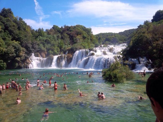 Croatia Waterfalls Beautiful Vacation🌊👌🌳