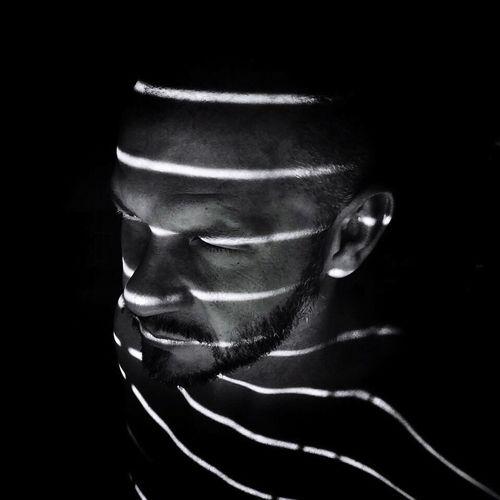 Guy Hunk Dude Portrait Portret Self Portrait Selfie ✌ Autoportrait Bnw Blackandwhite Shadow Light And Shadow Light Black Background Men People Shaved Head Beard Pet Portraits EyeEmNewHere
