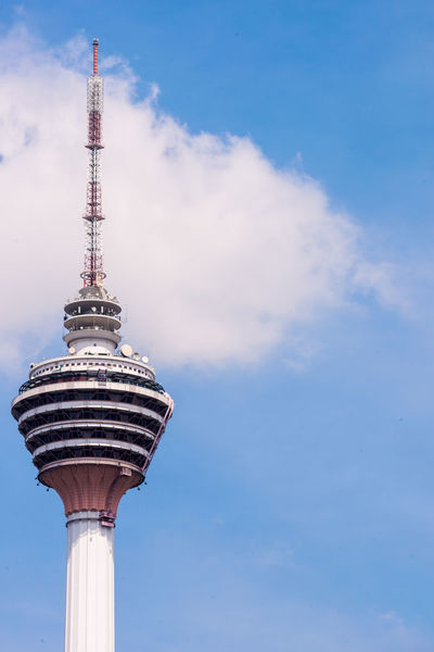 KL Tower Architecture Building Exterior Built Structure City Cloud - Sky Communication Day Global Communications KL TOWER Kuala Lumpur Kuala Lumpur Tower Low Angle View Malaysia No People Outdoors Sky Tall - High Technology Television Tower Tourist Attraction  Tower Travel Destinations