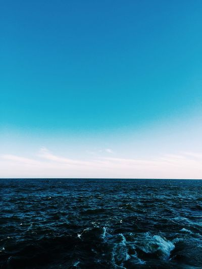 Art Sailing Sea