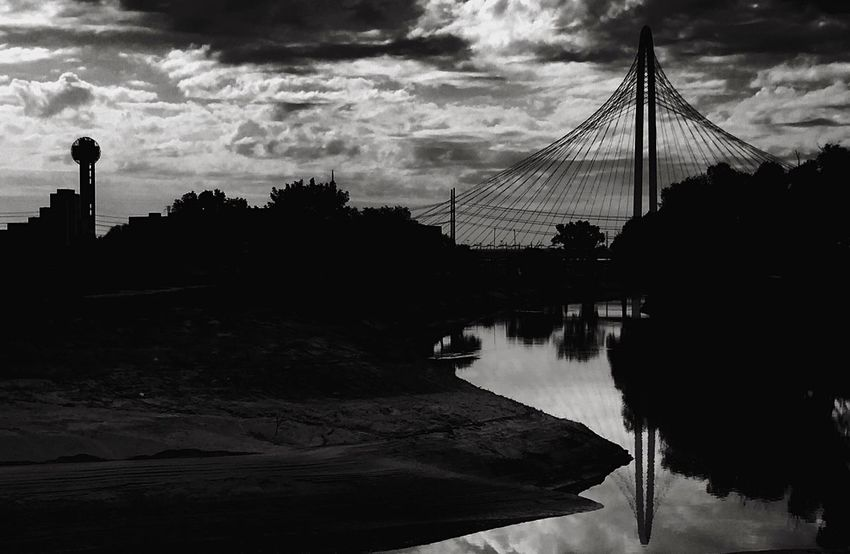 Check This Out Architecture Cityscapes Downtown Dallas Black & White