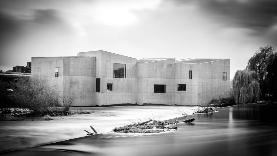 Architecture Architecture_collection Black & White Chipperfield Architecture Hepworth Gallery Long Exposure Shot The Week On EyeEm Architecture Black And White Black And White Friday Black And White Photography Building Exterior Built Structure Day Gallery Long Exposure Long Exposure Photography Nature No People Outdoors Sky Wakefield The Architect - 2018 EyeEm Awards