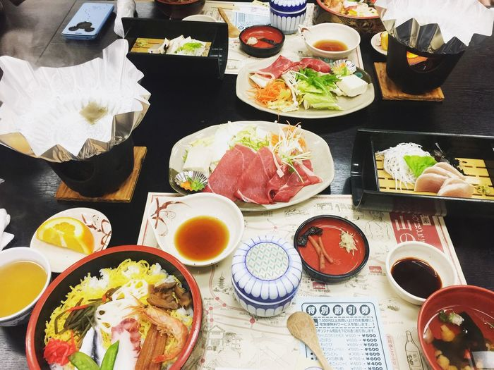 Meal Delicious Tasty Dishes Eating しゃぶしゃぶ Sushi Sashimi  Okayama Lunch Iphone6+