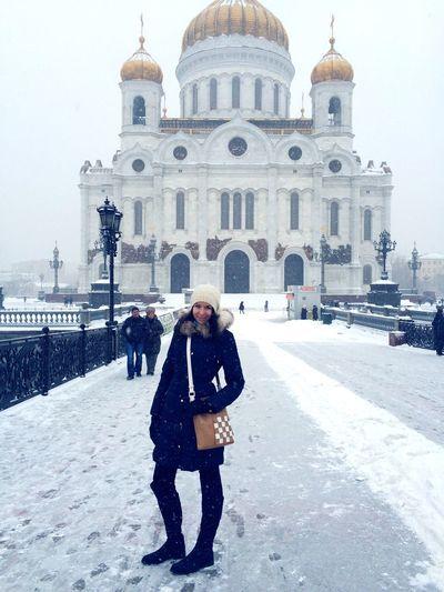 Architecture Taking Photos Walking Around The City  ХрамХристаСпасителя Snowy Days... Photooftheday Winter