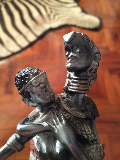 No People Eyeem Market ArtWork Women And Children African Beauty Sculpture Sculpture Detail Moçambique Attitude