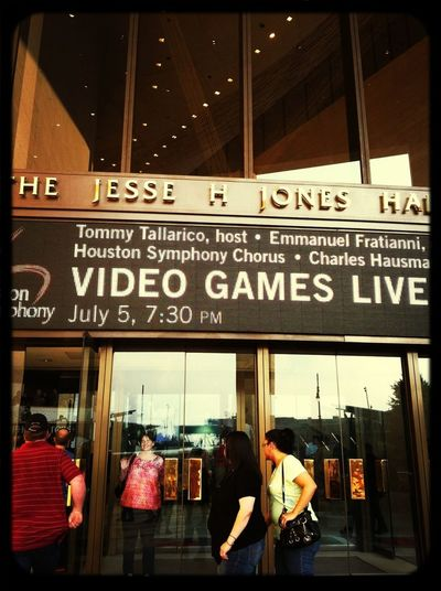 Video games live comes to Houston!