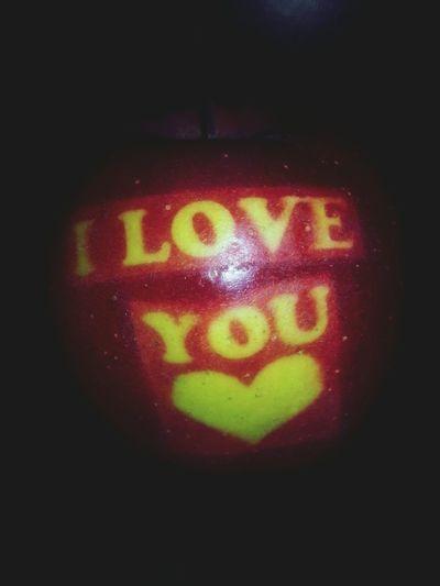 I Love You Apple