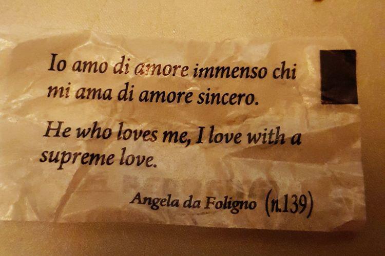 That's amore! Zelenezen BaciPerugina