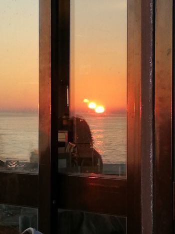 Sunset Window Landscape_Collection Carcavelos Portugal EyeEm Best Shots Automne🍁🍂🍃 EyeEm Selects EyEmNewHere Perspectives On Nature Eyemphotography Reflection Eye4photography  EyeEmNewHere